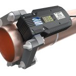 ferrite water conditioner WS115 on the pipe