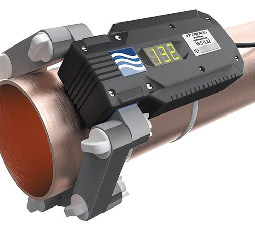 ferrite water conditioner WS132 on the pipe
