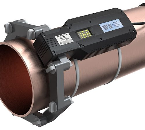 ferrite water conditioner WS168 on the pipe