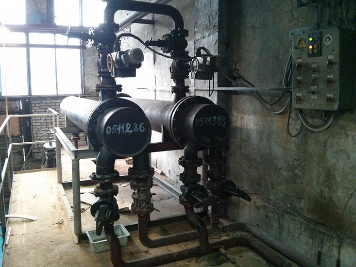 steam-water shell-tube heat-exchangers