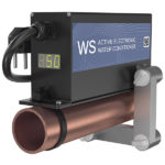electronic descaler WS-50 protects water system from the limescale